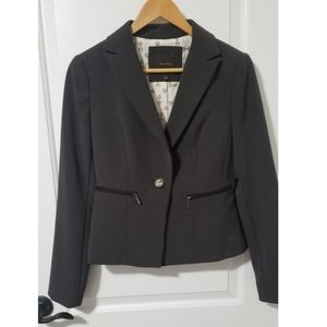 The Limited Brown Suit Jacket